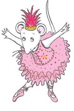 Angelina Ballerina/ takes me back to Georgie's preschool days