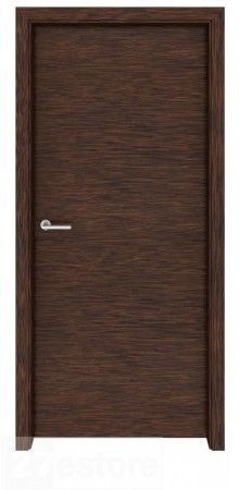 Looking for a door that blends in with the scenery? This interior door in dark walnut veneer will do the trick. It features a plain design on both sides and a grain that runs vertically throughout. Dark walnut is a great choice for an interior door. Door Design Interior, Interior Barn Doors, Richmond Interiors, Veneer Door, Walnut Doors, Flush Doors, Cool Doors, Modern Door, Entrance Doors