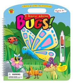 I Know About Bugs! Activity Book - Carson Dellosa Publishing Education Supplies