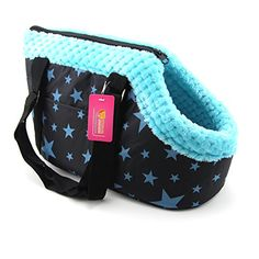 DOGGYZSTYLE Portable Small Medium Pet Dog Puppy Cat Travel Outdoor Carrier Carry Tote Bag Handbag Purse M Star Print ** Read more reviews of the product by visiting the link on the image.