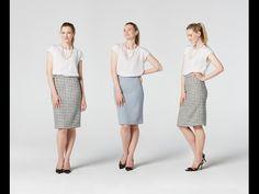 How to Make a Pencil Skirt | Teach Me Fashion - YouTube