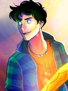 Percy Jackson by demigodsavvy Percy Jackson Fan Art, Percy Jackson Memes, Percy Jackson Books, Percy Jackson Fandom, Percabeth, Solangelo, Saga, Oncle Rick, Happy Birthday Percy