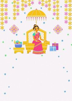 """Dear All, I cordially invited you all for """"Half Saree Function"""" of my daughter N. Divyashree on at 11 a.m at Chentha Mandabam, Railway Station Road, Dindigul Indian Wedding Invitation Cards, Indian Wedding Invitations, Wedding Cards, Invitation Background, Invitation Card Design, Half Saree Function, Bangle Ceremony, Wedding Couple Cartoon, Indian Baby Showers"""