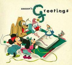 THE HAPPIEST BLOG ON EARTH:  Vintage Disney greetings