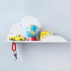 Partly Cloudy Shelf from @The Land of Nod