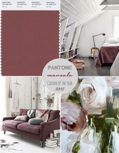 Pantone Colour of the Year 2015: Marsala Not really eggplant but still a beautiful fall wedding color scheme