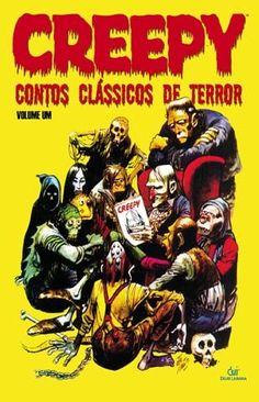 LIGA HQ - COMIC SHOP CREEPY VOL 1 CONTOS CLASSICOS DE TERROR (CAPA MOLE) PARA OS NOSSOS HERÓIS NÃO HÁ DISTÂNCIA!!!