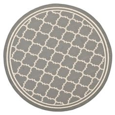 I just bought this Mari Lattice Courtyard Rug in Anthracite from the Safavieh Courtyard Rugs event at Joss and Main!
