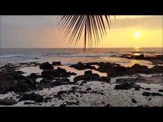 HAWAII Big ISLAND - Pu'uhonua Honaunau Beach Sonnenuntergang Video