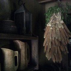 Dried Corn Cobs / Prim Decor
