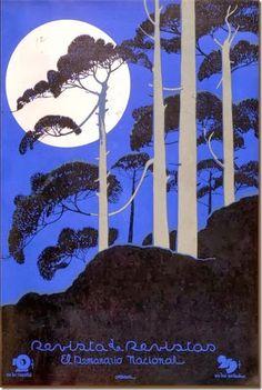 Garcia Cabral «Paisaje nocturno» 1931