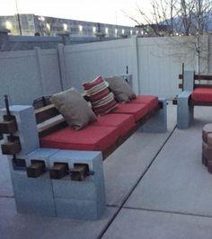 Foto : Zum Bau einer Sitzecke im Garten