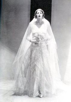 Abito da sposa anni 30 di Chanel