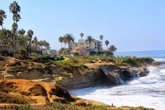 San Diego - La Jolla. One of the best beaches in Cali!  Beautiful Neighborhoods, awesome homes, great views, fantastic shopping, great food, fun adventures such a kayaking, great little hikes and walking areas.