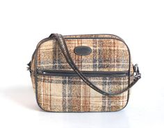 Vintage BagTweedCarry by thevintagetreehouse on Etsy, $39.52