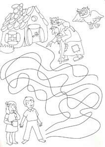 Coloring Books, Coloring Pages, Hansel Y Gretel, Easy Christmas Crafts, Worksheets, Fairy Tales, Diy And Crafts, Clip Art, Printables