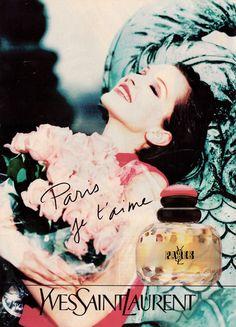 Original Vintage Magazine Ad 1990's - YSL - Yves Saint Laurent perfume   eBay