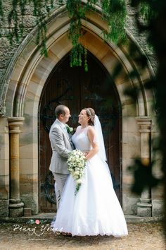 Bride and groom portraits around church.  Brides processional. Summer wedding at High Rocks in Tunbridge Wells Kent.  Church wedding. St Pauls Church in Rusthall Tunbridge Wells Kent. Photography by Penny Young Photography.