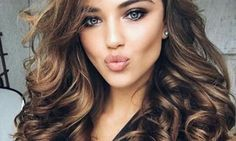 Beautiful hair color ideas for brunettes hair - στυλ χτενίσματος, μαλλ Beautiful Hair Color, Cool Hair Color, Beautiful Eyes, Hair Colors, Gorgeous Makeup, Brunette Color, Brunette Hair, Brunette Beauty, Hair Goals