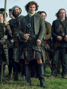 Jamie and his fellow Scottish men
