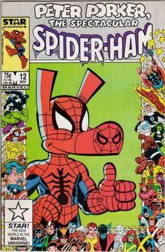 Peter Porker the Spectacular Spider-Ham Marvel/Star Comics) comic books Free Comic Books, Marvel Comic Books, Comic Book Covers, Comic Books Art, Book Art, Comic Art, Star Comics, Marvel Comics, Lego Marvel