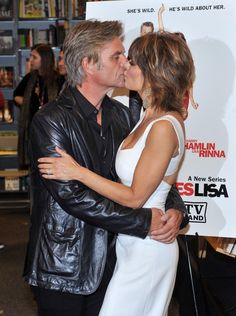 "Lisa Rinna Photos: Lisa Rinna & Harry Hamlin Sign Copies Of ""Starlit"" & ""Full Frontal Nudity"""