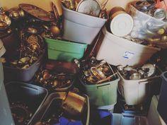 Rainy day fund. #thriftstigators #freeshipping #amazonseller #ebayseller #vintage #90s #vintage90s #vintagefashion #etsyseller #logo #snapback #website #wwvse #purses #instagood #hatshop #smallbusiness #rva #vintageshop #vintagehatshop #reseller #thrifting #thrifted #etsyshop #follow #comment #brass #copper #pewter