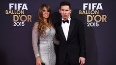 Messi with Girlfriend Antonella