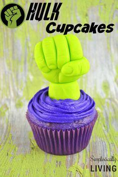 Homemade Hulk Cupcakes Simplistically Living
