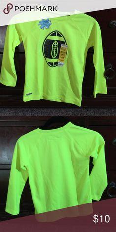 BN boys l/s shirt. Neon yellow size 5/6 Moisture wicking shirt, long sleeve, brand new Jumping Beans Shirts & Tops Tees - Long Sleeve