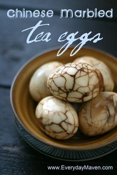 How to Hard Boil Eggs & Chinese Marbled Tea Eggs