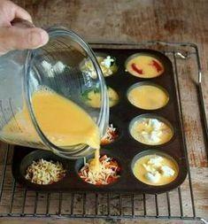 Minitortillas rellenas al horno