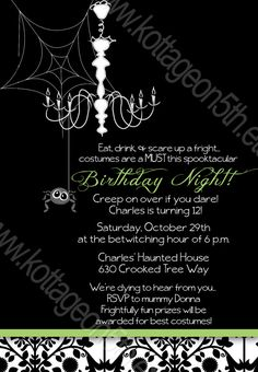1000 Images About 40th On Pinterest Halloween Birthday