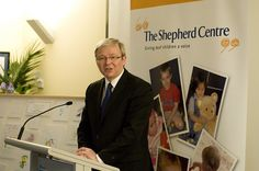 Kevin Rudd at The Shepherd Centre Graduation 2009