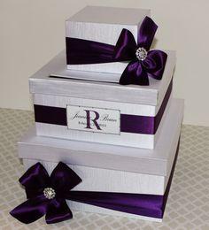 Wedding Card Box Money Holder Tiffany Aqua Blue by LittleDivine, $98.00