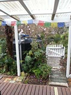 Cottage gardens Cottage Gardens, Cottages, Pergola, Arch, Outdoor Structures, Cabins, Longbow, Country Homes, Outdoor Pergola