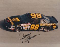RARE Jimmy Spencer #98 Molly Black Gold 1992 Auto 8 x 10 please retweet