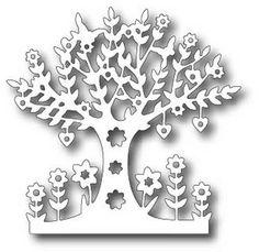 Tutti Designs - Cutting Die - Spring Tree
