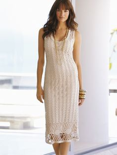 White Dress Crochet III  http://crochetemoda.blogspot.ca/2012_07_01_archive.html