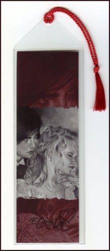 Eternity Vampire Couple Bookmark