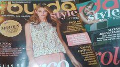 Burda Style de fevereiro e março #costura #revistaburda #burdastyle