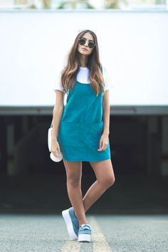 62 Ideas Vintage Outfits Jumper For 2019 Jean Moda, 90s Fashion, Fashion Dresses, Trendy Outfits, Cool Outfits, Casual Dresses, Short Dresses, Look Star, Denim Skirt Outfits