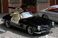 1954 300 SL Coupé, Mercedes-Benz.