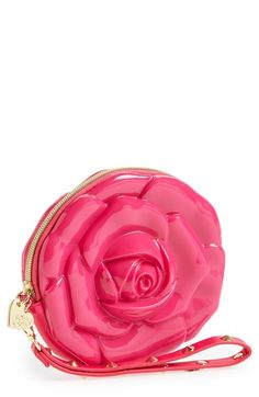 Free shipping and returns on Betsey Johnson 'Flower' Wristlet at Nordstrom.com. Hand-picked just for you, Betsey Johnson's playful wristlet will put the power of the flower into any ensemble. Features include a removable, studded wrist strap and an interior pocket for arranging all your essentials.