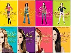 """""""Pretty Little Liars"""" by Sara Shepard (has never been available from the library and I don't want to buy the series unless I like the first one.)"""