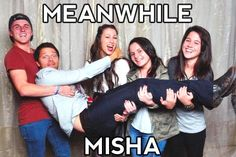 Meanwhile Misha Collins ...