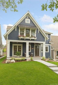 New Ideas For House Exterior Design Bungalows Craftsman Style