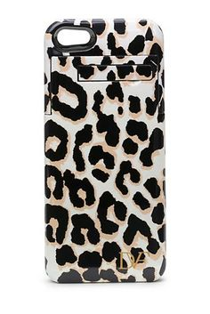 Stay Connected iPhone 5 Charging Case In Leopard
