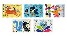 COLLECTORZPEDIA Together Postage Stamps, Finland, Stamps