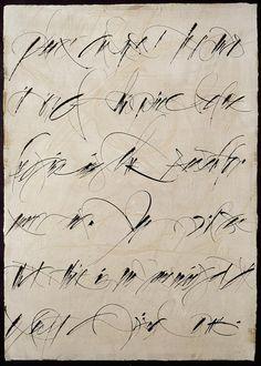 Calligraphy by Brody Neuenschwander
